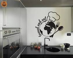 Travel And Eat Wall Decal Traveling Vinyl By Traveltheworlddecals 45 00 Wall Decals Wall Travel Wall