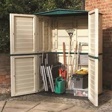 plastic sheds and garden storage