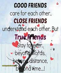 friendship quotes good friends care for each com