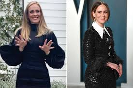 Sarah Paulson responds to fans saying she looks like Adele   EW.com