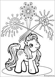 My Little Pony Kleurplaat 027101 Kleurplaat