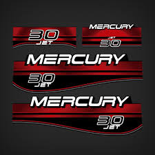 1994 1998 Mercury 30 Hp Jet Oil Window Decal Set 826323a96 Garzonstudio Com