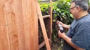 Diy Redwood Dog Ear Fence How I Do It The Easy Way Phila Tv Youtube