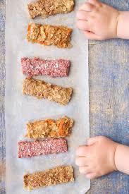 porridge fingers for baby led weaning 3
