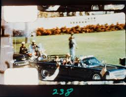 Stills from Zapruder film of JFK Assassination | Fans in a Flashbulb