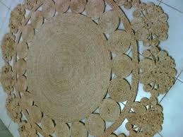 hand woven jute rugs decorative round