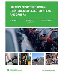 impacts of vmt reduction strategies on