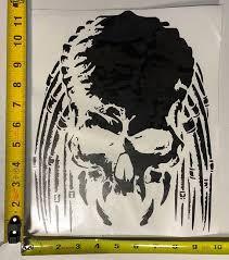 Predator Inspired Vinyl Decal Window Sticker Elite Blacked Out Etsy