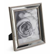 mikasa beaded mirror picture frame