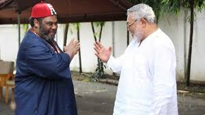 Actor Pete Edochie Mourns Late Jerry John Rawlings | FNN24