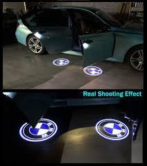 4pcs Bmw Door Lights Logo Universal Wireless Bmw Door Light Projector Cool Car Door Logo Projector Lights For Bmw All Models Led Logo Door Lights For Bmw All Accessories For Cars