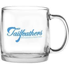 13 oz nordic glass coffee mug