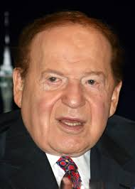 Adelson begins to play with his new toy | Ralston Reports