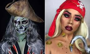 23 pirate makeup ideas for women to