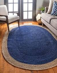 9x12 ft hand braided jute rugs bohemian