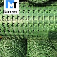 China Green Color Square Plastic Mesh For Garden Fencing China Garden Fencing Geogrid Pp Polyethylene