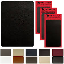 black leather and vinyl repair patch by