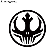 Langru Car Stying Darkside Alliance Symbol Logo Vinyl Decal Sticker Bumper Window Wall Star Wars Jdm Vinyl Decals Stickers Decal Stickervinyl Decal Aliexpress