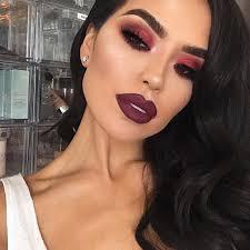 dark makeup look saubhaya makeup