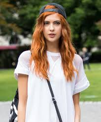 how to dye hair red from dark brown or