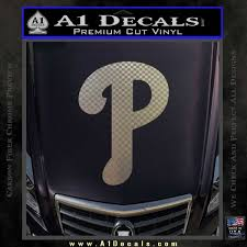 Phillies Decal Sticker Philadelphia Current A1 Decals