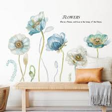 Warm Stickers Bedroom Bedside Wall Decor Living Room Sofa Tv Background Wall Sticker Romantic Flowers Self Adhesive Home Decor Create Wall Decals Create Wall Stickers From Hongheyu 14 68 Dhgate Com