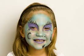 witch face paintings