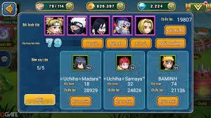 Naruto Đại Chiến: Đội hình yêu thích của Minata Naruto - Hướng Dẫn ...
