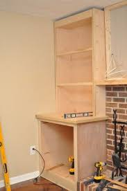 building built in cabinets and shelves