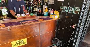 Inkl Pub Installs Electric Fence Around Bar To Help Punters Maintain Social Distancing Bristol Post
