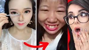 best viral asian makeup transformations