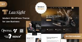 Lawsight - Law & Lawyer WordPress by Case-Themes | ThemeForest