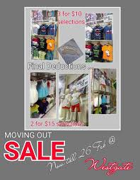 Tom & Stefanie] West Gate ~ Moving Out Sale , Selected items Up to 70% Off  !! Last day of operation 26/2/17 Sun ! - 👑BQ.sg BargainQueen