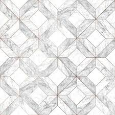brown marble marquetry white gray
