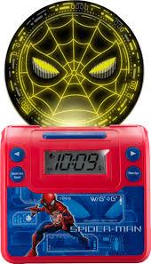 Best Buy Ekids Marvel Spider Man Alarm Clock Red Sm 349 Fxv9
