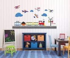 Vinyl Wall Decal Nursery Wall Decal Train Decal Railroad Etsy