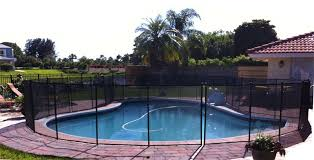 Water Warden Safety Pool Fence 4 X 12 Section Black Wwf200