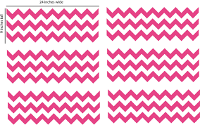 Chevron Wall Decal Removable Wall Decal Borders