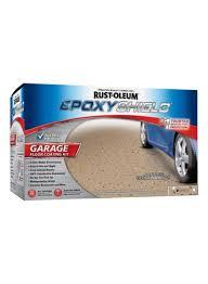 garage floor coating tan gloss