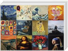 Famous Classic Arts Stickers 20 Sheets Artistic Expressions Art Pai Creanoso