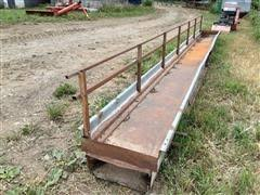 Shop Built 20 Fenceline Sheep Feeder Bigiron Auctions