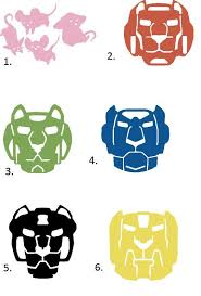 Voltron Sticker Decal Geek Stuff Defenders Of The Galaxy Stickers
