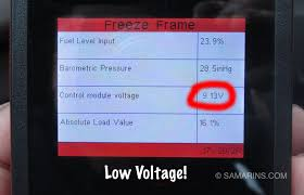 obdii freeze frame how to access it