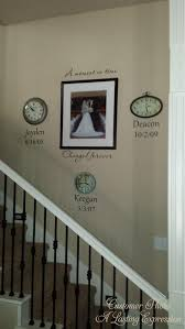 A Moment In Time Changed Forever Birth Dates Vinyl Decal Wall Etsy