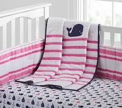 hamptons whale nursery bedding baby