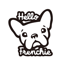 Funny With Cute French Bulldog Say Hello Car Vinyl Sticker For Car Body Mural Window Door Decal Top Quality Rainproof Zp031 Car Stickers Aliexpress