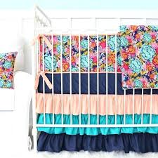 c and teal baby bedding