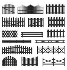 Farm Fence Vector Images Over 10 000