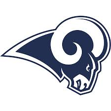 Los Angeles Rams Fathead Logo Giant Removable Decal