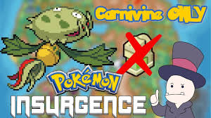 Can You Beat Pokemon Insurgence with Only a Carnivine? DAY 3 - YouTube